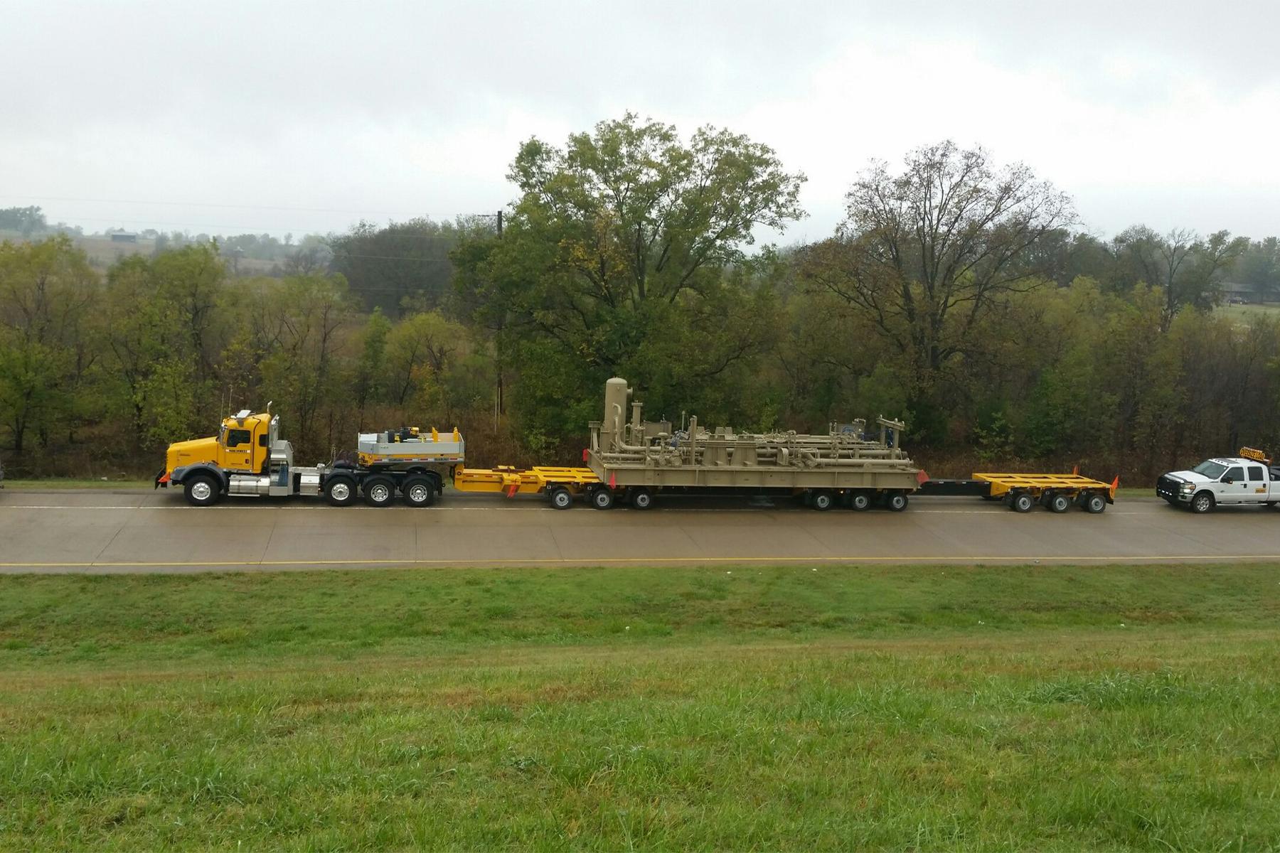 hauling equipment