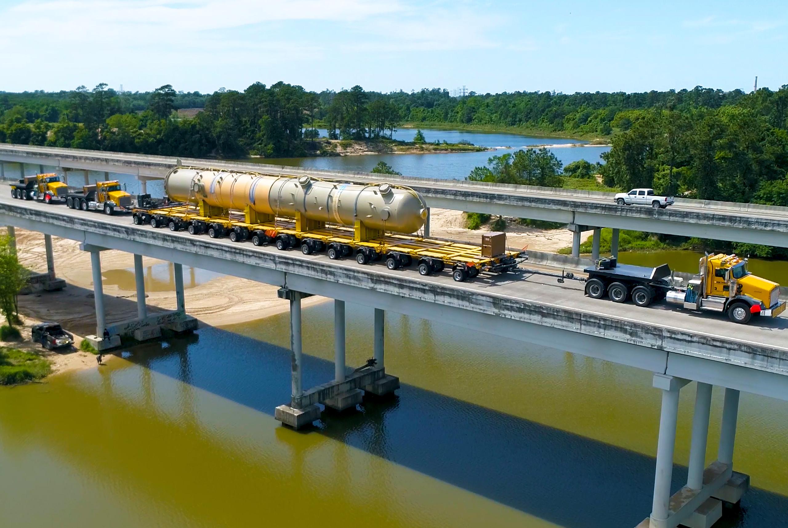 Vessel Crossing Bridge equipment